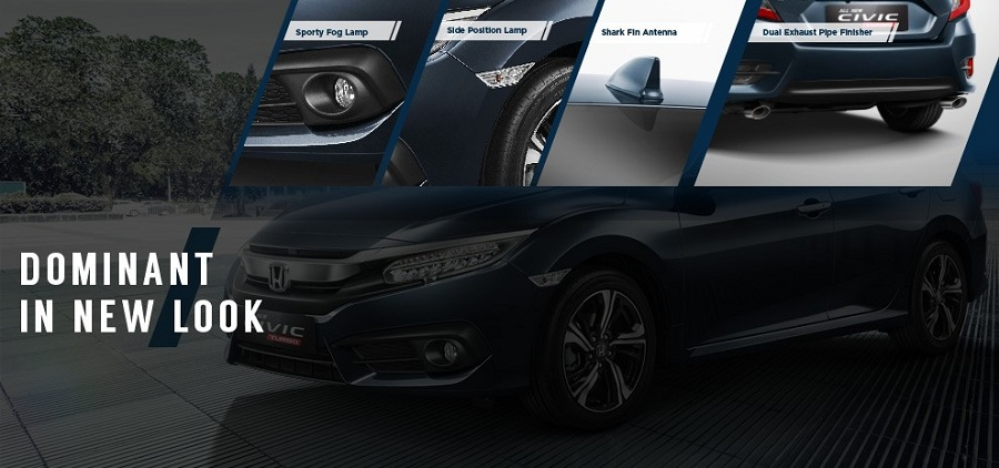 Exterior New Honda Civic 2