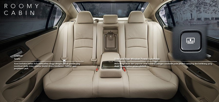 Interior New Honda Accord 2
