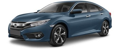 New Honda Civic Biru