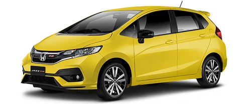 New Honda Jazz Kuning