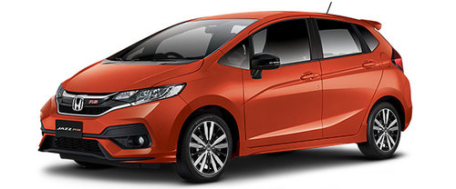 New Honda Jazz Orange