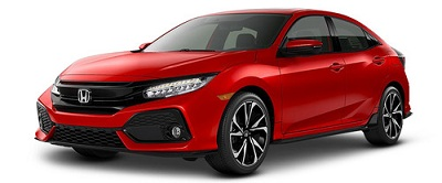 Honda Civic Hatchback Merah