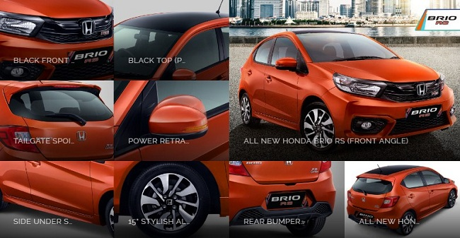 Eksterior All New Honda Brio RS