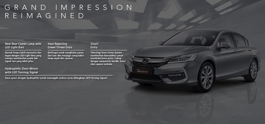 Exterior New Honda Accord 2