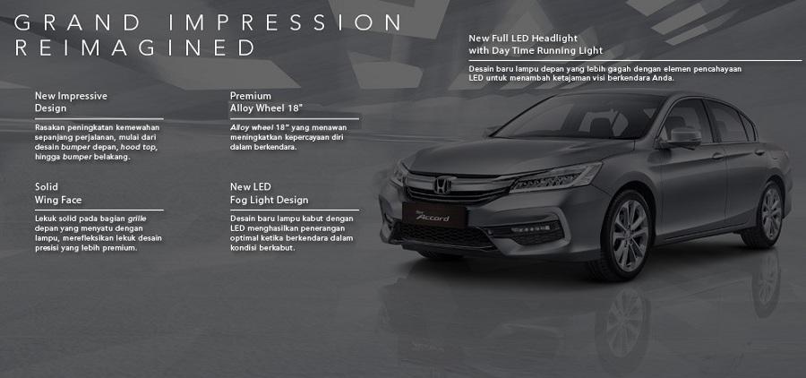 Exterior New Honda Accord