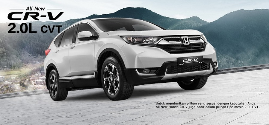 Exterior New Honda CR-V 3