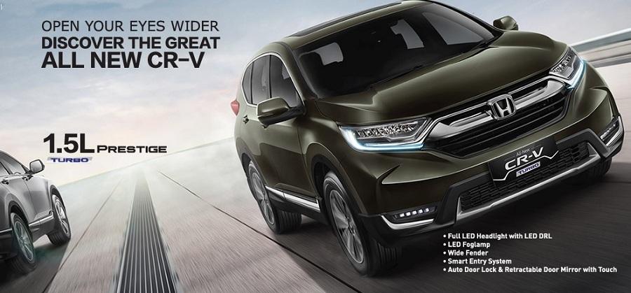 Exterior New Honda CR-V
