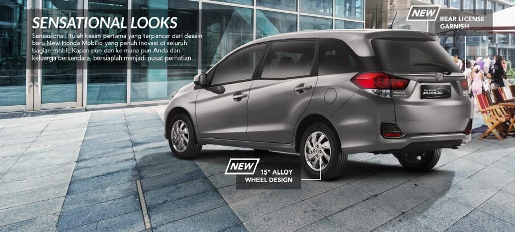 Exterior New Honda Mobilio 1