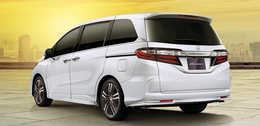 Exterior New Honda Odyssey 2