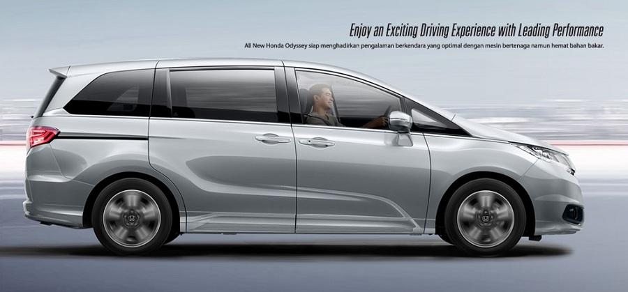 Exterior New Honda Odyssey