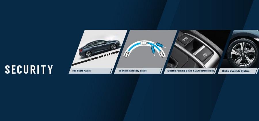 Fitur Keamanan New Honda Civic