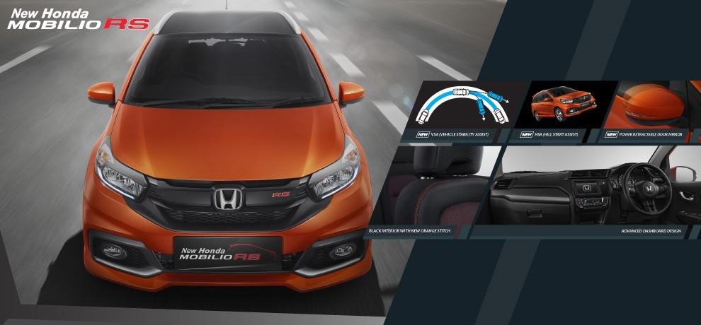 Fitur New Honda Mobilio RS 2