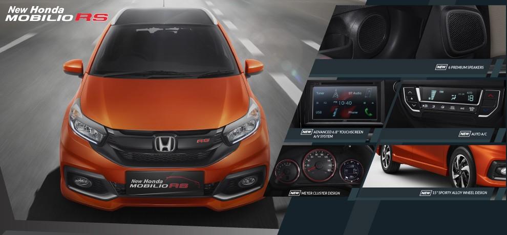 Fitur New Honda Mobilio RS 3