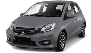 Honda Brio Abu-Abu