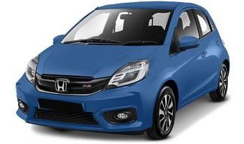Honda Brio Biru