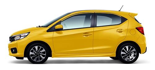 Honda Brio Warna Kuning