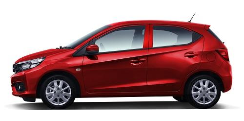 Honda Brio Warna Merah