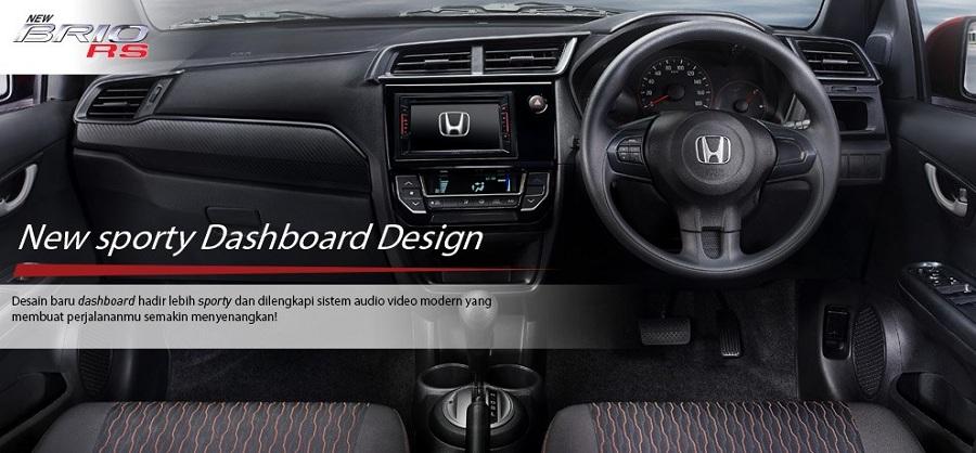 Interior Honda Brio RS 1
