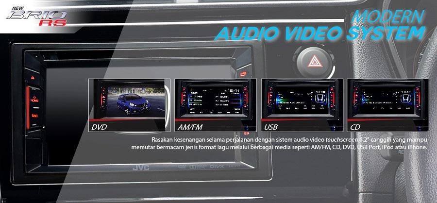 Interior Honda Brio RS 2