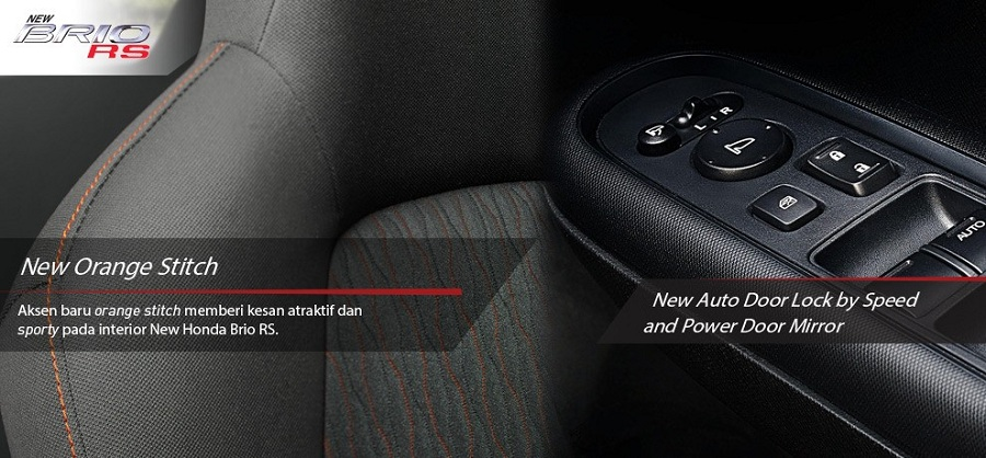 Interior Honda Brio RS 5