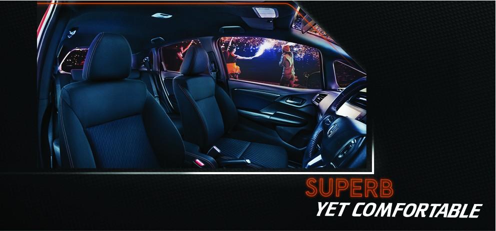 Interior Honda Jazz 2