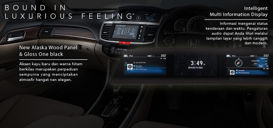 Interior New Honda Accord