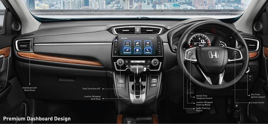 Interior New Honda CR-V 2