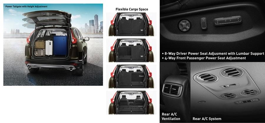 Interior New Honda CR-V 4