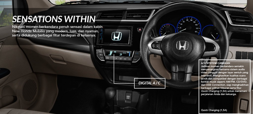 Interior New Honda Mobilio 1