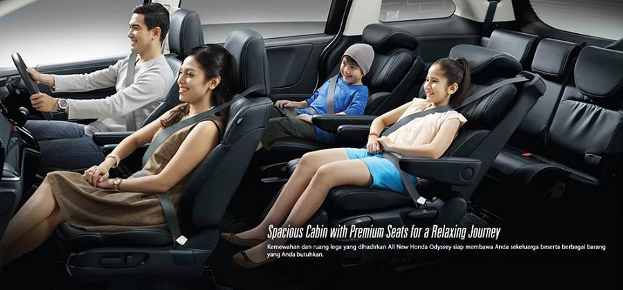 Interior New Honda Odyssey 2