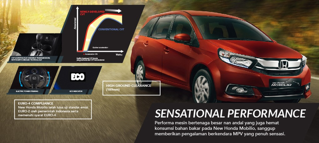 Mesin New Honda Mobilio 3