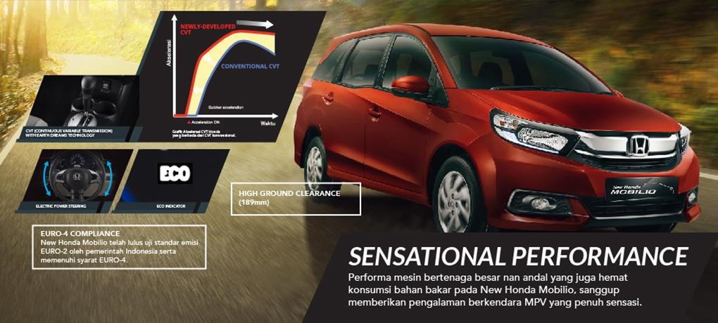 Mesin New Honda Mobilio terbaru