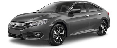 New Honda Civic Abu-Abu