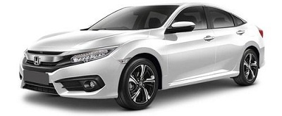 New Honda Civic Putih