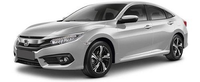 New Honda Civic Silver