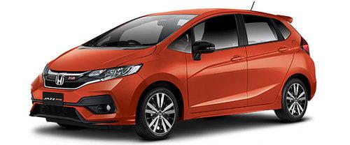 New Honda Jazz Orange