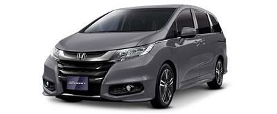 New Honda Odyssey Abu-Abu