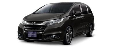 New Honda Odyssey Hitam