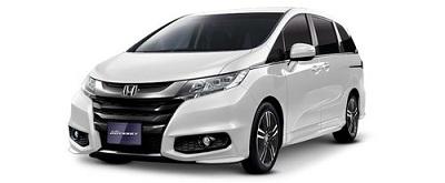 New Honda Odyssey Putih
