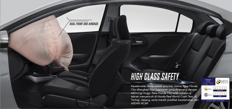 Safety New Honda City