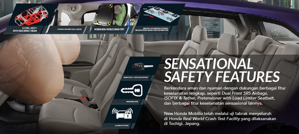 Safety New Honda Mobilio