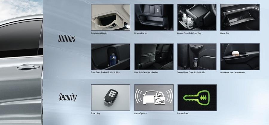 Security New Honda Odyssey