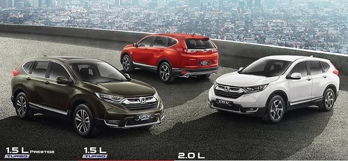 Tipe New Honda CR-V