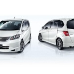 honda freed putih