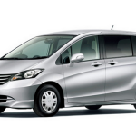 honda freed silver