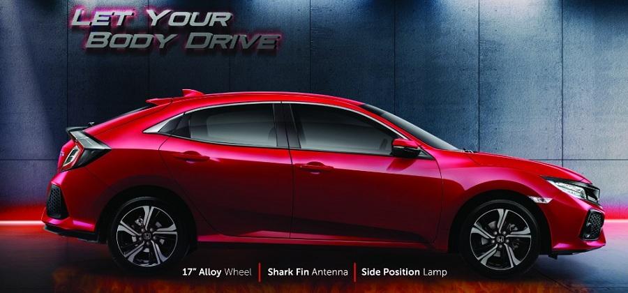 Exterior Honda Civic Hatchback 2