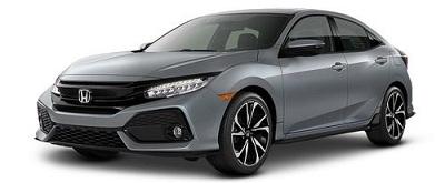 Honda Civic Hatchback Abu-Abu