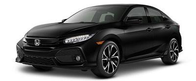 Honda Civic Hatchback Hitam