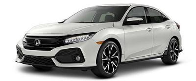Honda Civic Hatchback Putih