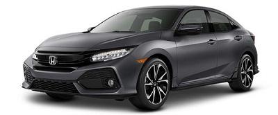 Honda Civic Hatchback Silver 2